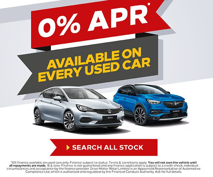 0% APR On Used Stock